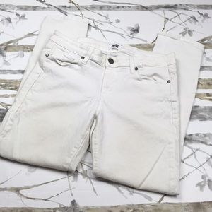 Paige White Skinny Jeans Size 30